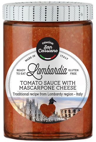 Lombardia sauce - Tomato sauce with mascarpone cheese