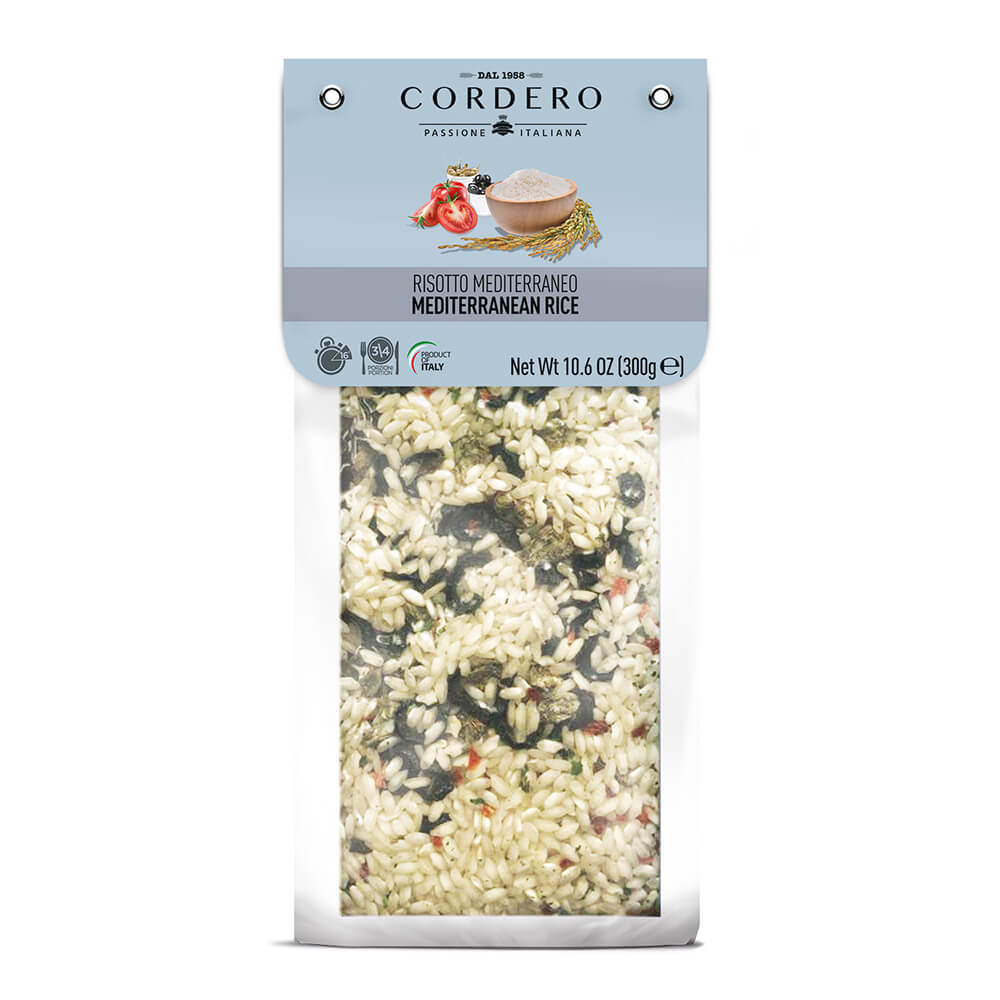 Risotto Olives & capers  Vacuum Pack