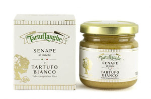 Senape Al Tartufo Bianco  / Mustard With Honey And White Truffle 100gr