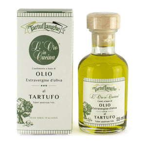 """Oro In Cucina"" Extra Virgin Olive Oil With Summer Truffle Slices 55ml"