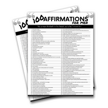 Load image into Gallery viewer, 100 Affirmations Arsenal for Men-The-Winegar-Company-LindaWinegar-fidjiti-ClarknLinda