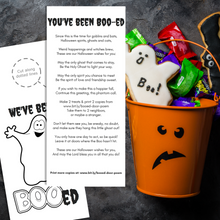 Load image into Gallery viewer, You've Been Boo-ed w/ Holy Ghost Poem | Halloween Door Hanger - Winegar Company