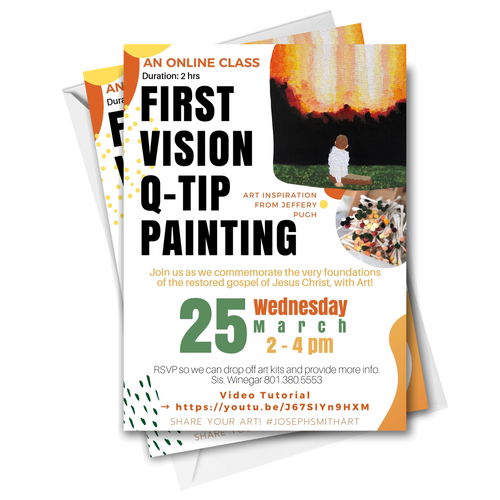 Joseph Smith First Vision Qtip Art Class | Digital Invite Template-The-Winegar-Company-LindaWinegar-fidjiti-ClarknLinda