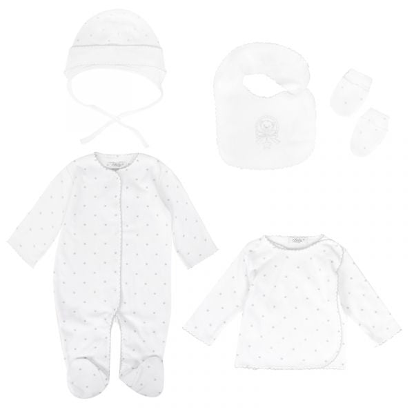 sofija-baby-white-star-set