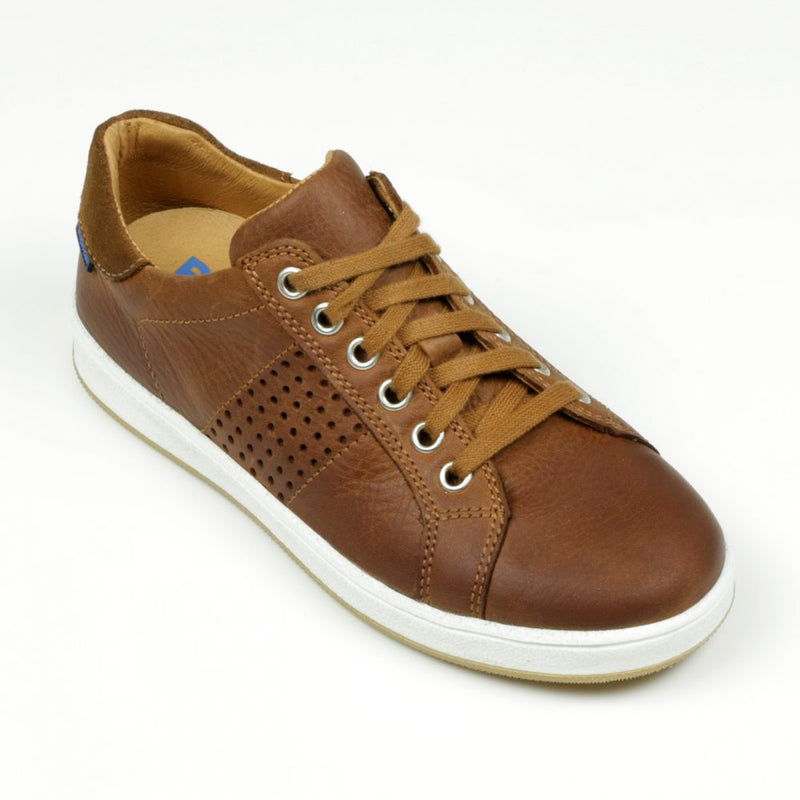 richter-boys-brown-leather-trainer-side