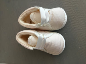 Little Darlings Soft Occasion Booties - Ivory