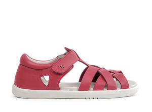 Bobux Tropicana Strawberry Coloured Sandals.