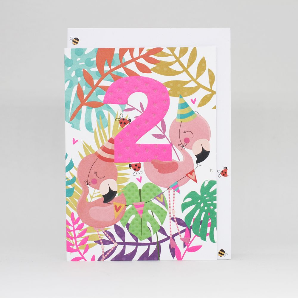 2nd-birthday-card-girls-flamingos