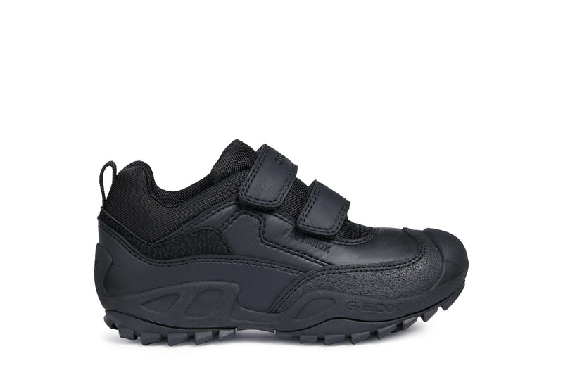 GEOX SAVAGE BOYS SCHOOL SHOES