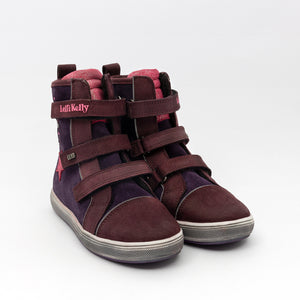 Lelli Kelly Purple Star Waterproof Boots