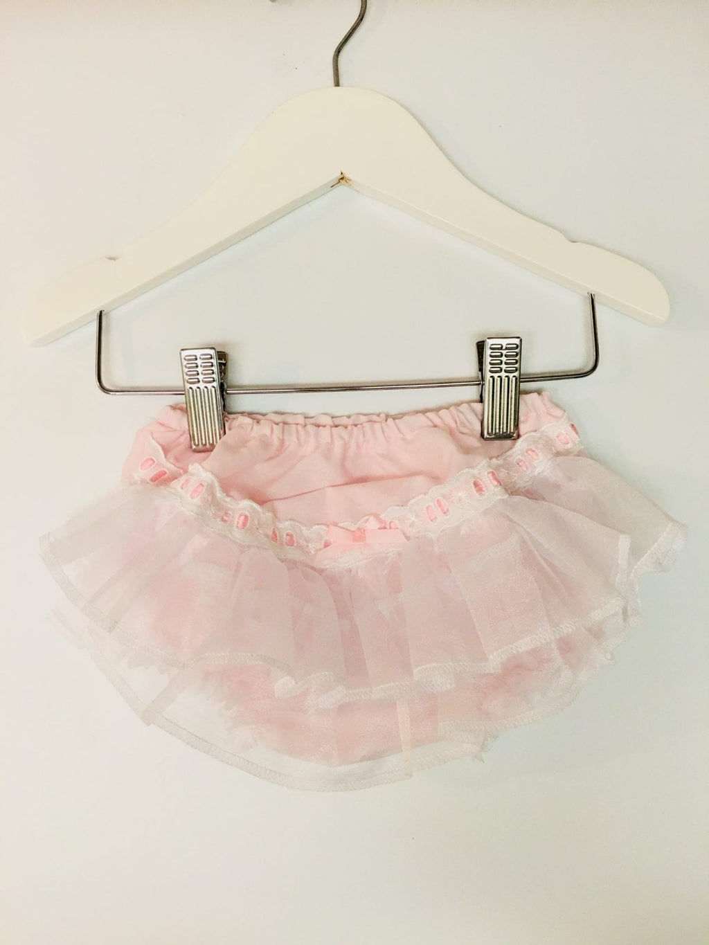 Pex Pink and white frilly knickers