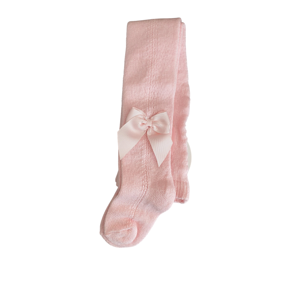 meia pata pale pink baby tights