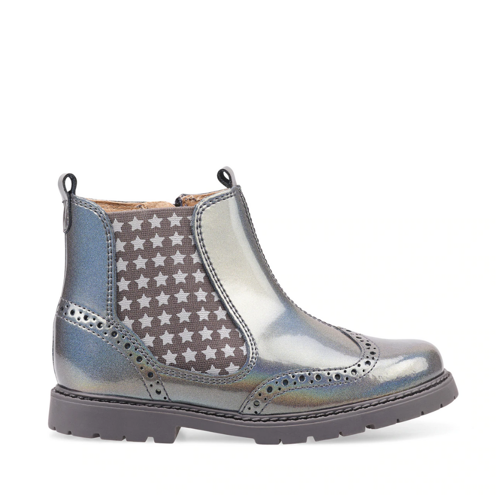 start-rite-metallic-chelsea-boots