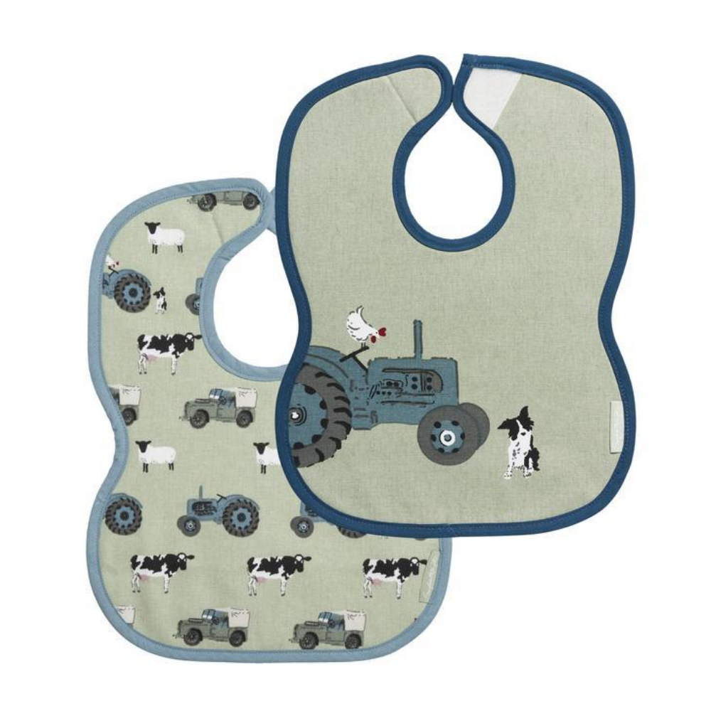 sophie allport on the farm bibs