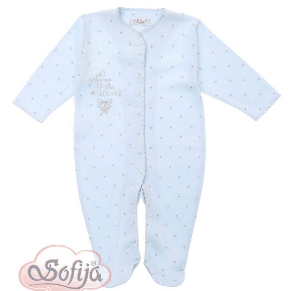 sofija-welcome-to-the-world-blue-babygrow