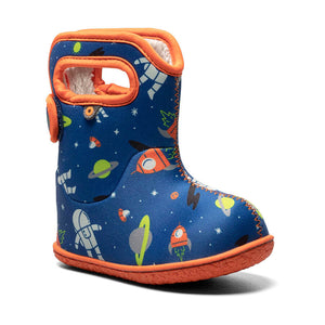 baby bogs spaceman in blue