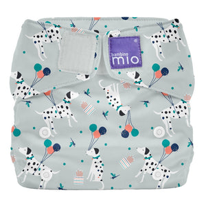 Bambino Mio Miosolo All In One Reusable Nappy Puppy Party