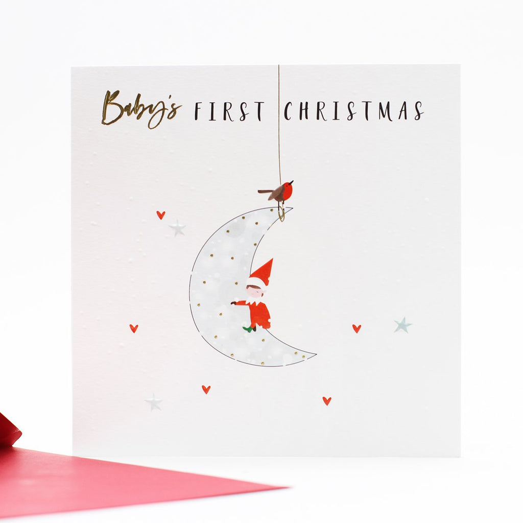 Baby's 1st Christmas Card