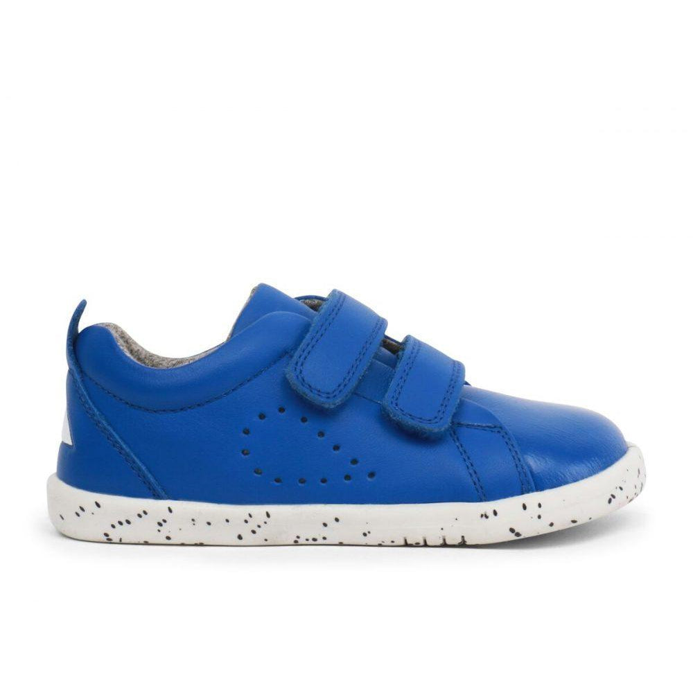 bobux-grass-court-blue-trainers