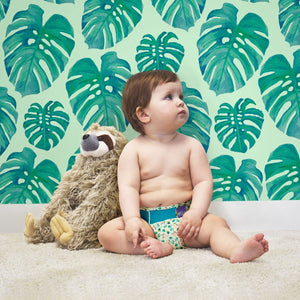 Bambino Mio Miosolo All In One Reusable Nappy Swinging Sloth