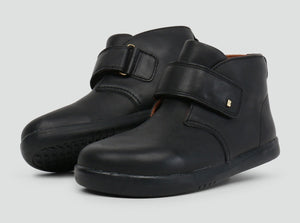 Bobux Desert Black Boot