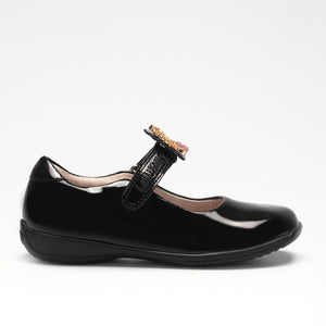 Lelli Kelly Prinny 2 Black Patent School Shoes