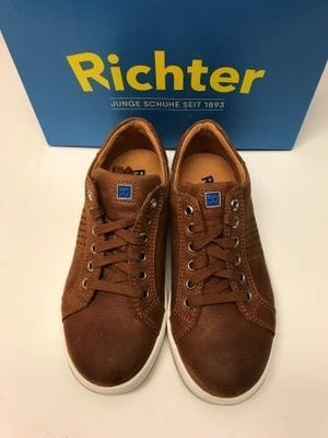 Richter Brown Leather Trainer