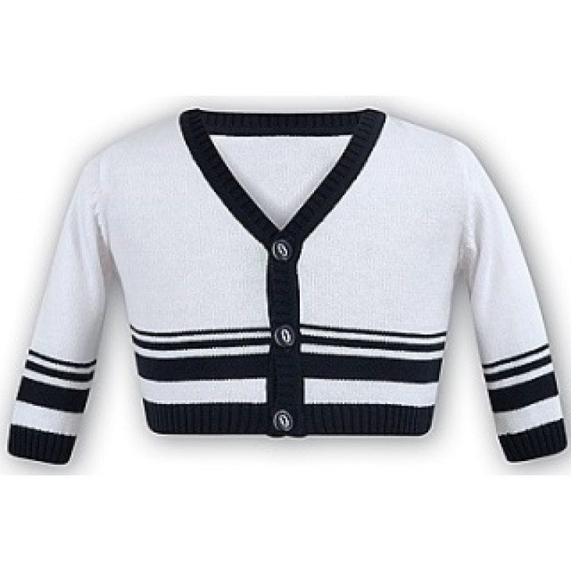 sarah-louise-navy-&-white-boys-cardigan