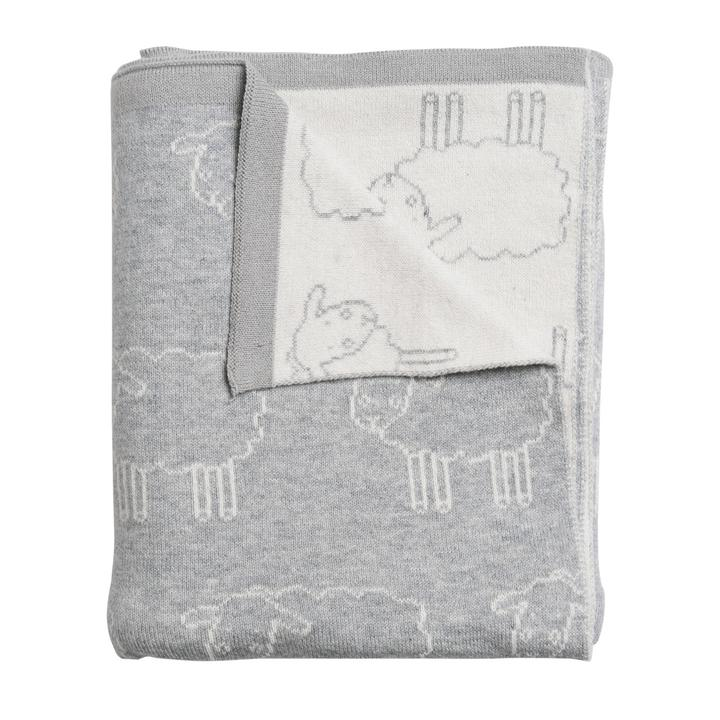 sophie allport grey sheep blanket