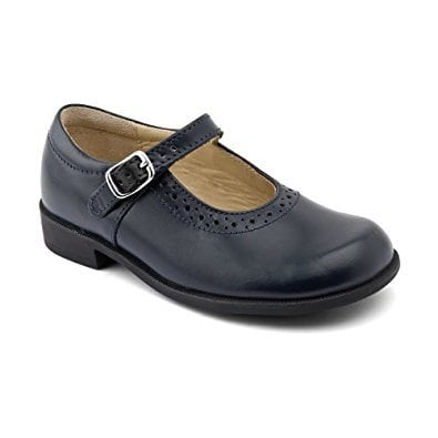 Startrite Louisa Navy Leather School Shoe