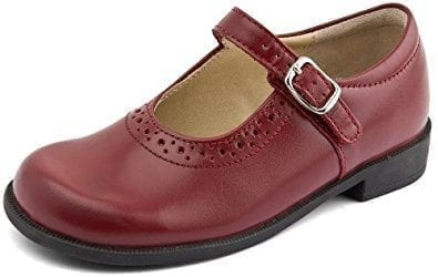startrite louisa red leather shoe