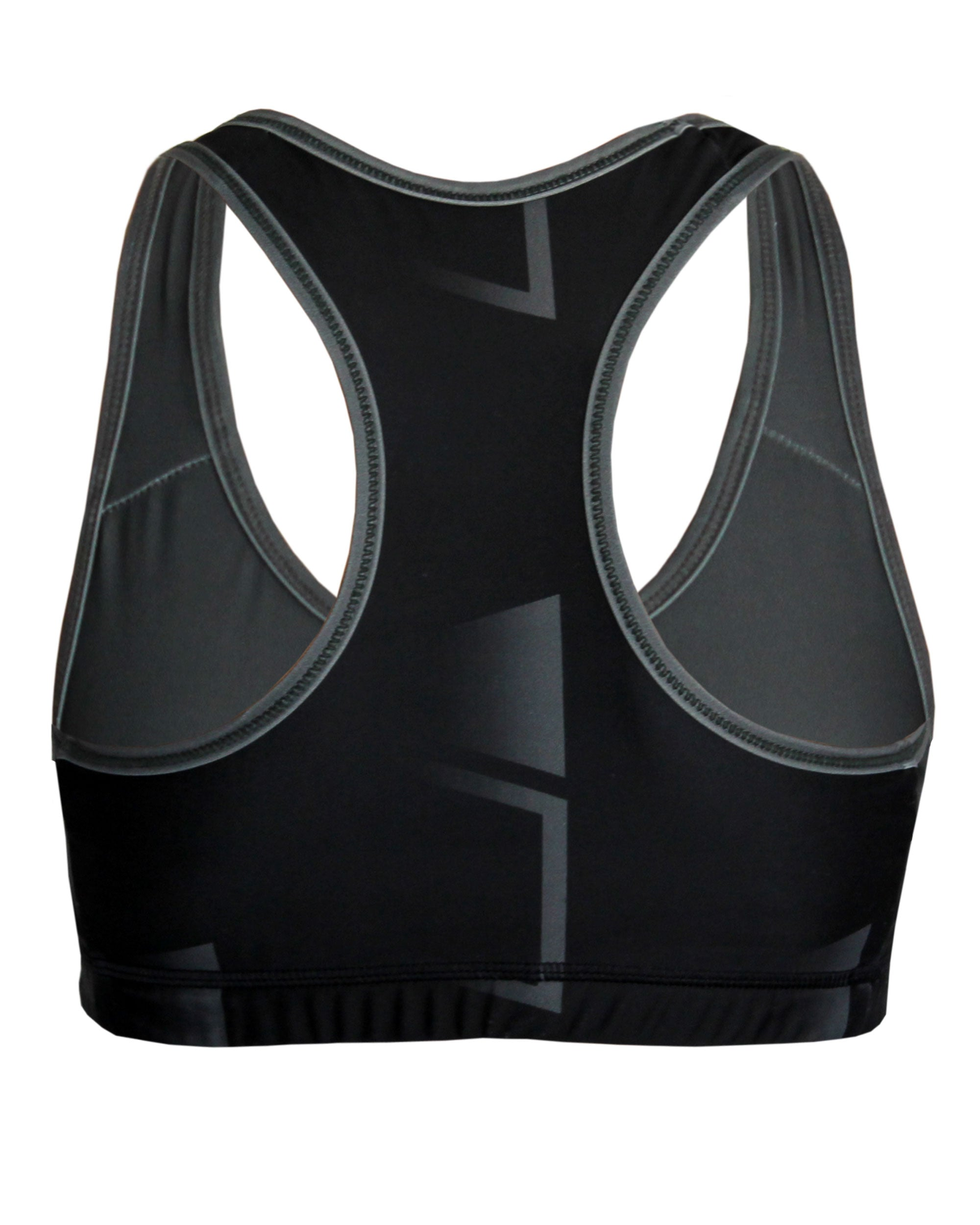 CLUB BLACK Intensity Sports Bra VIVOLICIOUS Chafe Free Active Wear