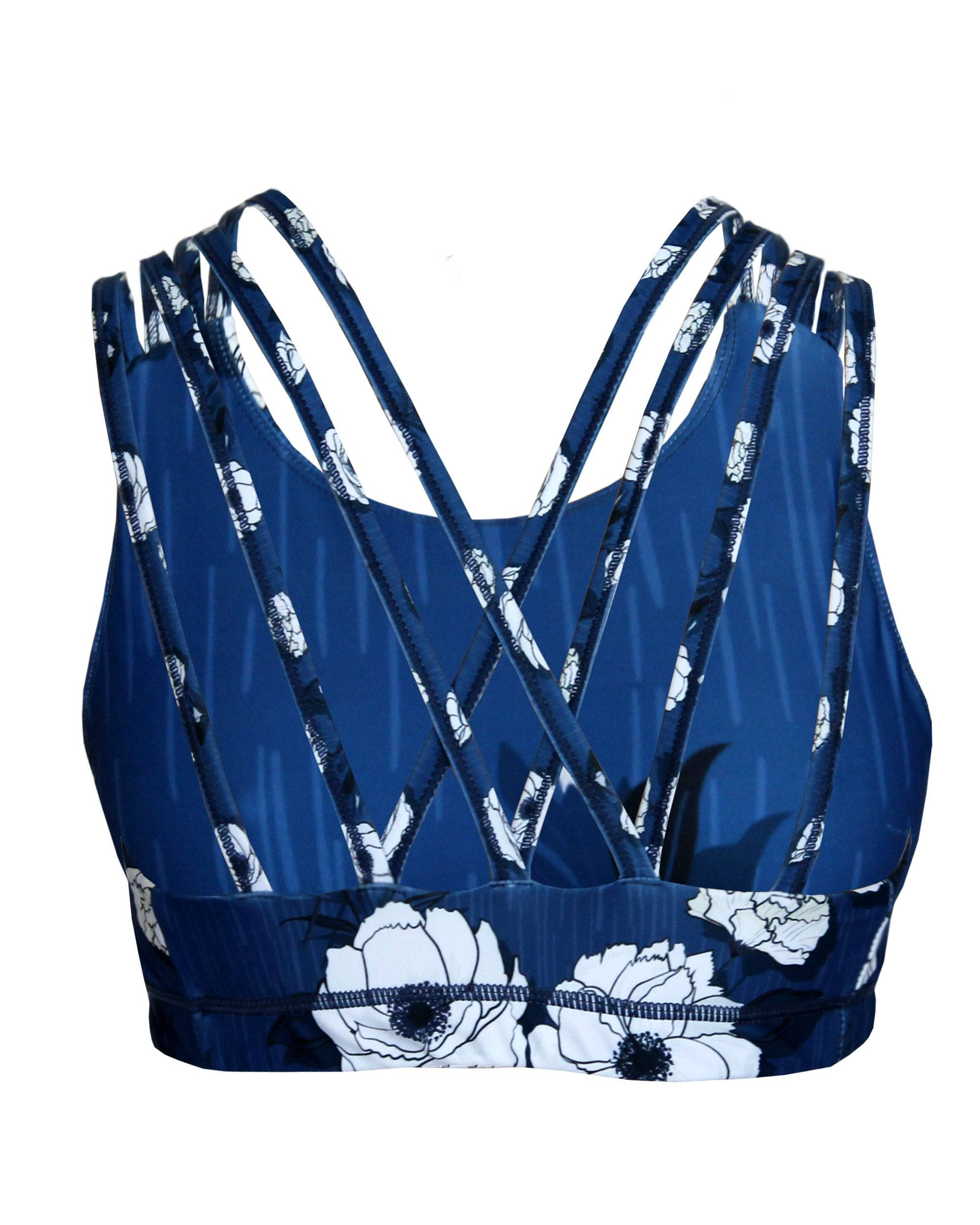 Vivolicious BLOOM Criss Cross Intensity Sports Bra