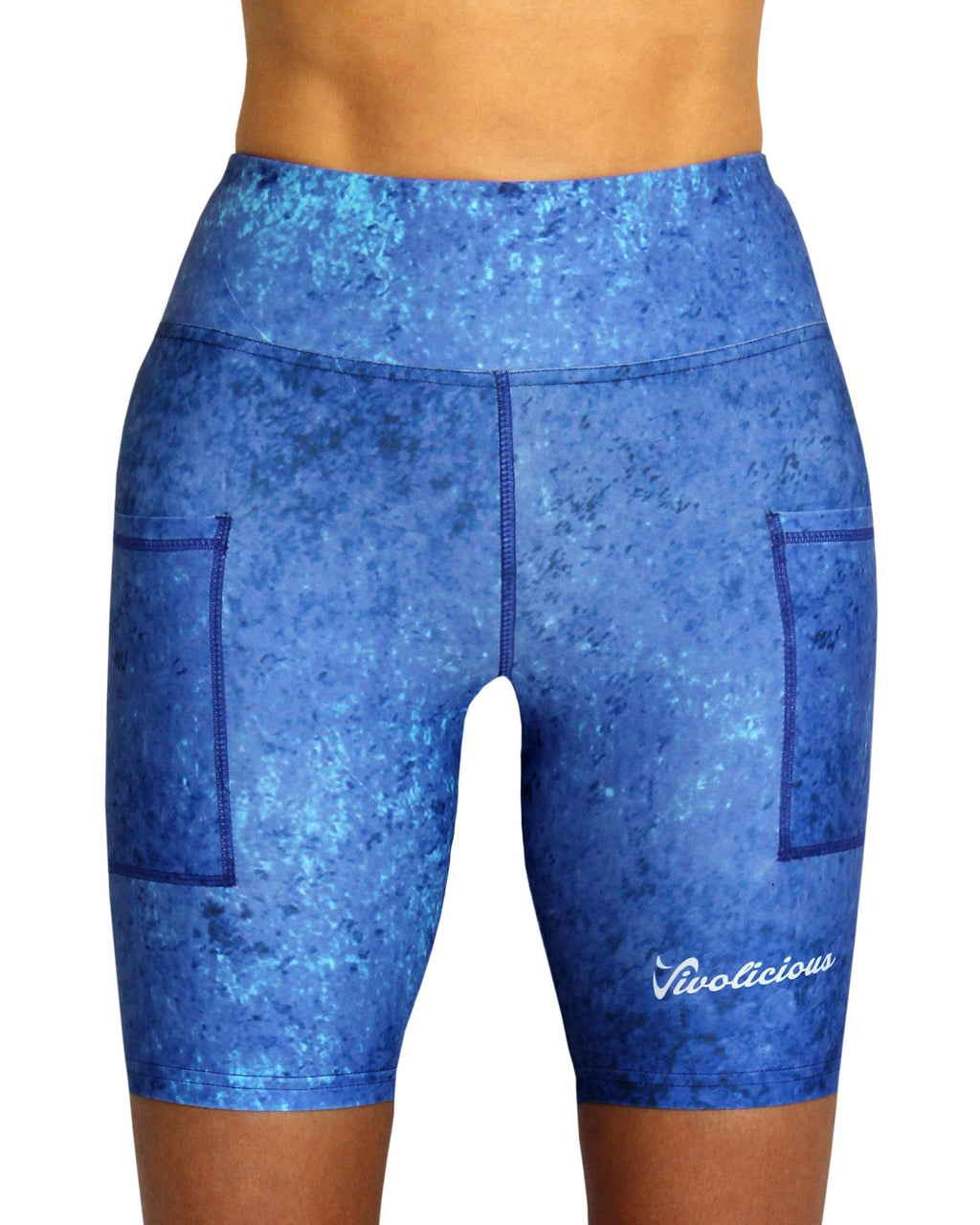 Vivolicious CLUB BLUE Women's  Tech Shorts