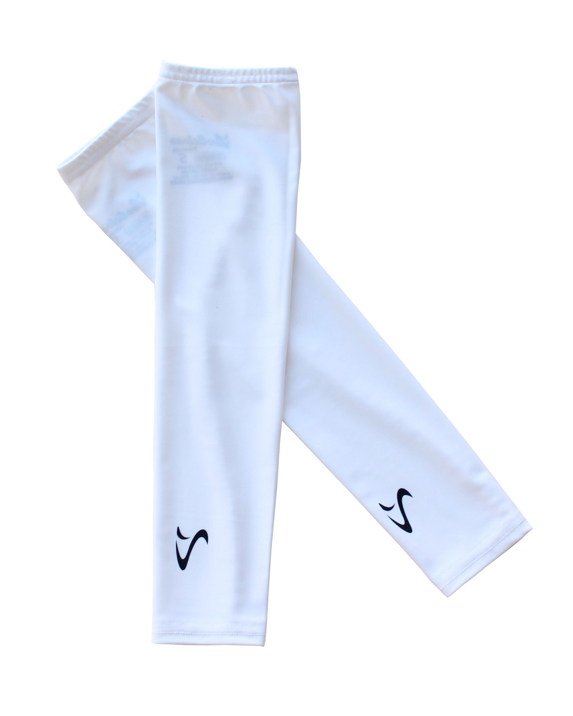 ESSENTIAL WHITE TechFIT UV Arm Sleeves VIVOLICIOUS Sun Sleeves