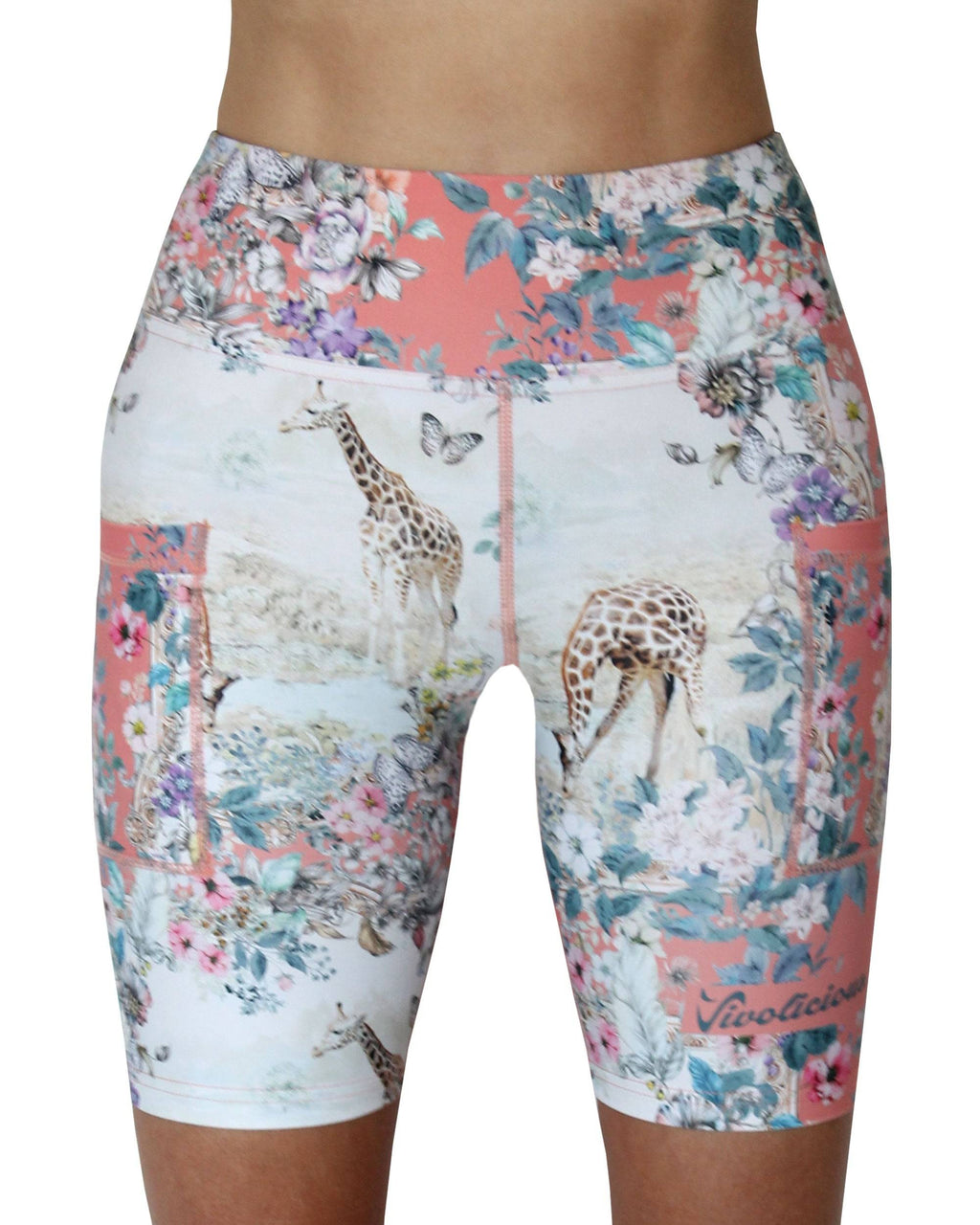 Vivolicious GIRAFFE Tech Shorts PRE-ORDER for OUT OF STOCK SIZES