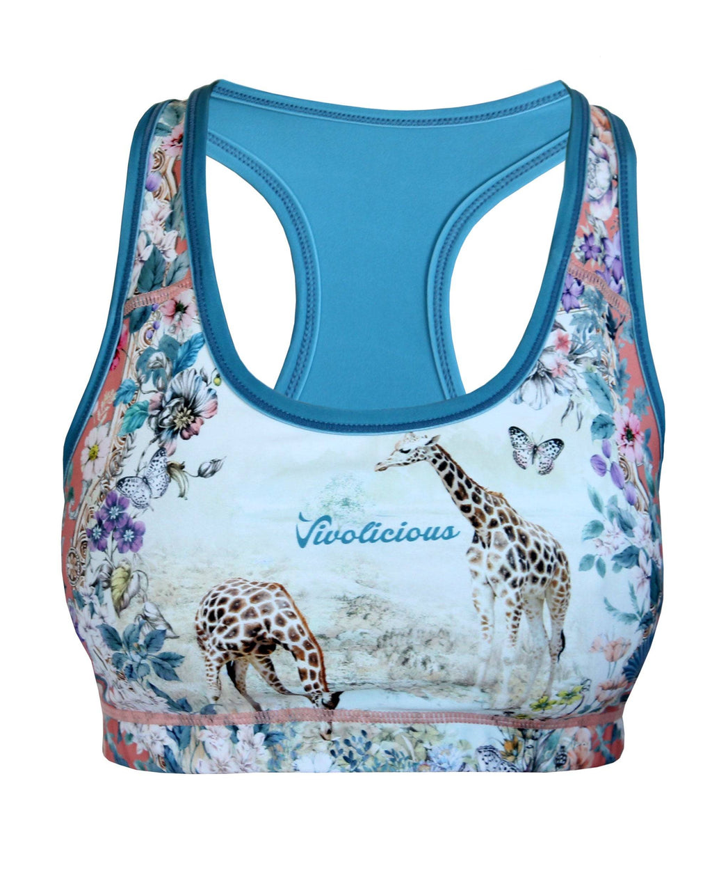 GIRAFFE Intensity Sports Bra VIVOLICIOUS Chafe Free Active Wear