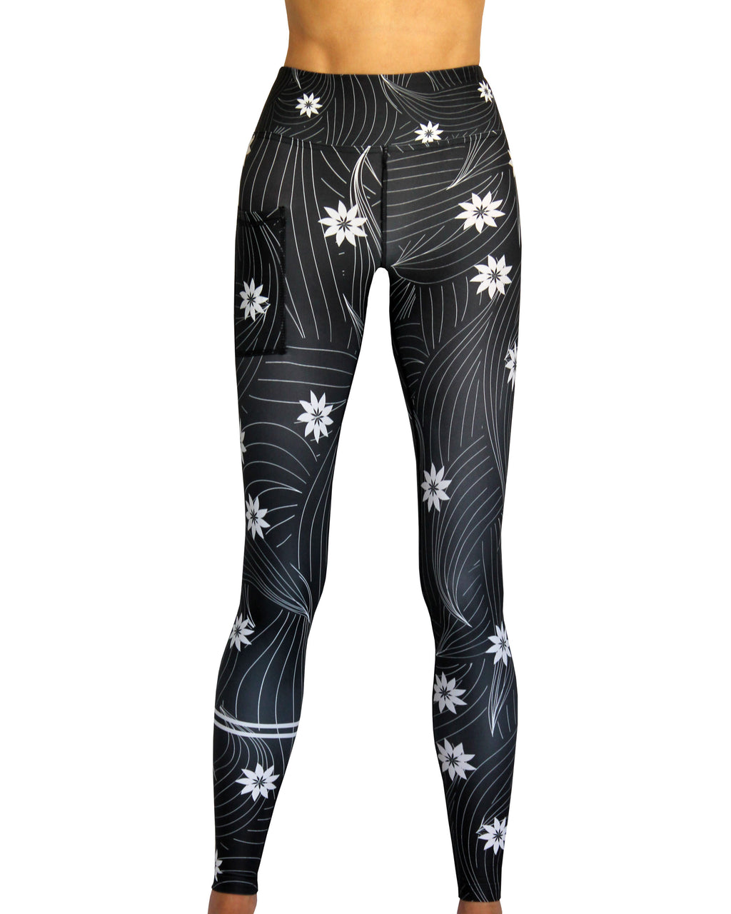 FLOWERS IN MY HAIR Tech Tights VIVOLICIOUS Active Wear Leggings