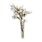 Champagne Magnolia Tree In Tapered Vase • 2 sizes