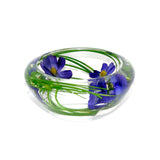 Blue Cosmos Flower Bowl