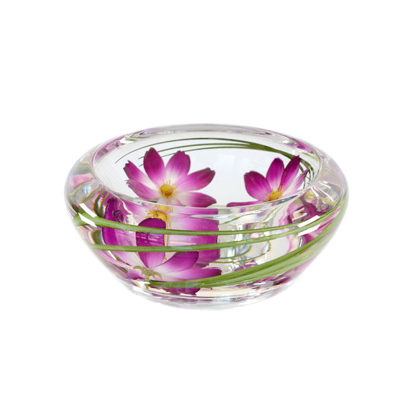 Purple Cosmos Flower Bowl