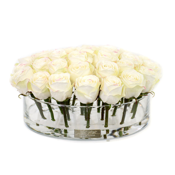 White Rose in Heritage Bowl