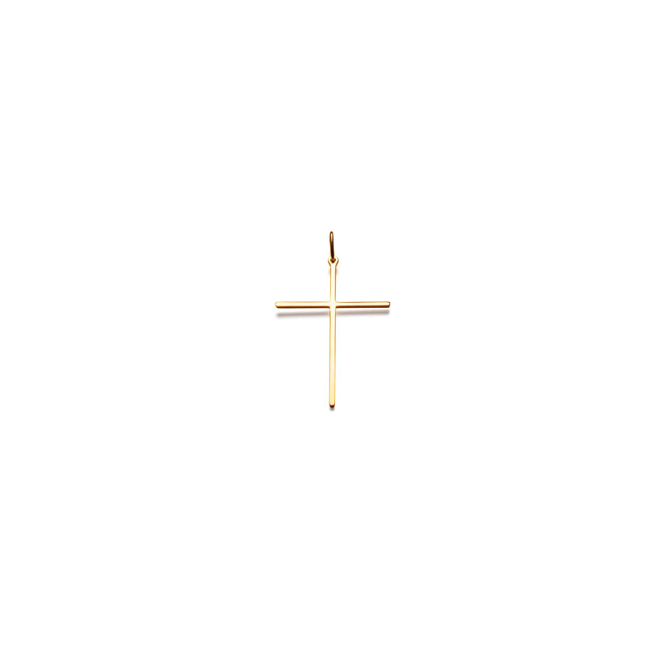 """One Love"" Cross. Pendant. Gold / Silver"