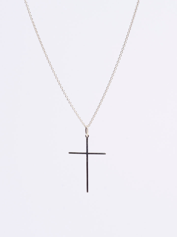 """One Love"" Cross Necklace. Gold / Silver"