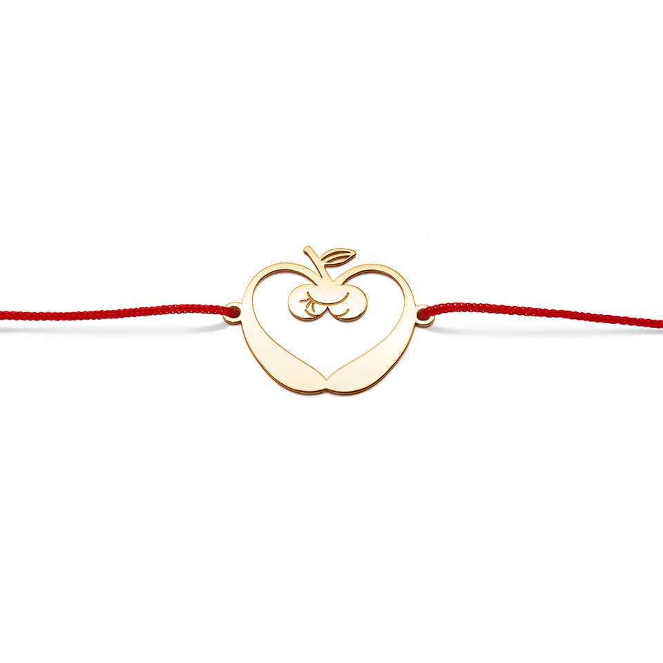 Bracelet. Apple Time Love for the Moon and the Sun. Lunasol