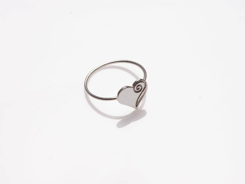 Healing Heart Ring. Gold, Silver, various sizes