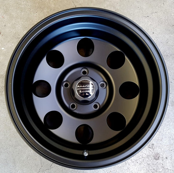 American Racing Baja AR172 16x10 5/135 -25 nice low negative offset suit Ford