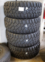 Load image into Gallery viewer, 4 x 305x65R17 Mickey Thompson DEEGAN 38 121Q used tyres 14mm tread 33/12.5r17