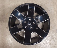 Load image into Gallery viewer, Fuel TANK 20x9 1p offset 5/127 Gloss Black Milled spoke edge 78.1 CB JK Jeep C10