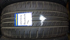 205/55R16 94V Diamond Back 7mm tread mint tyre